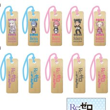 Re:Zero -Starting Life in Another World- Wooden Charm Strap Vol. 1