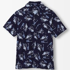 Steins;Gate Time Machine Aloha Shirt