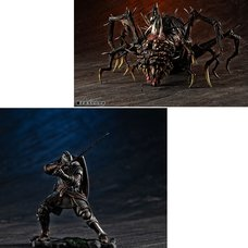 Game Piece Collection Dark Souls Knight of Astra Oscar & Chaos Witch Quelaag