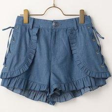 LIZ LISA Dungaree Shorts