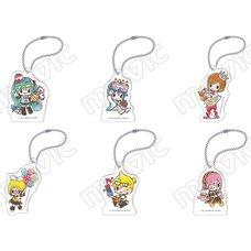 Vocaloid Meiko's Birthday Acrylic Keychain Collection