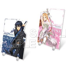 Sword Art Online Alicization: War of Underworld Acrylic Memo Stand