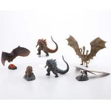 Hyper Solid Series Godzilla (2019) Non-Scale Trading Figures Box Set