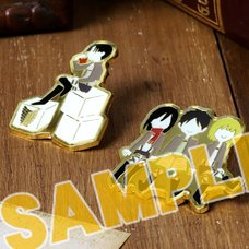Attack on Titan Yuru Palette Ver. Pin Badge Collection