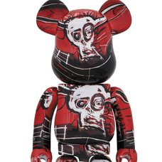 BE@RBRICK Jean Michel Basquiat Vol. 5 1000%
