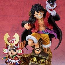 Figuarts Zero One Piece WT100 Commemorative Eiichiro Oda Illustration Daikaizoku Hyakkei Monkey D. Luffy