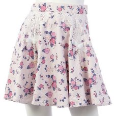 Swankiss Rose Skirt