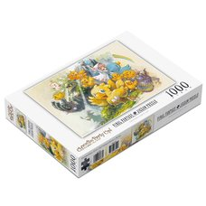 Final Fantasy Chocobo Party Up! 1000-Piece Jigsaw Puzzle