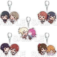 Love Live! Nijigasaki High School Idol Club Nijigaku Duets Acrylic Keychain Collection