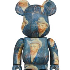 BE@RBRICK Van Gogh Museum Self Portrait 1000%