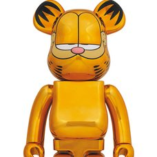 BE@RBRICK Garfield: Gold Chrome Ver. 1000%