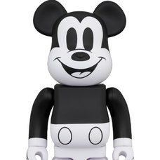 BE@RBRICK Mickey Mouse: Black & White 2020 Ver. 1000%