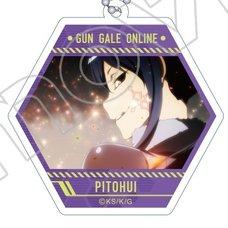 Sword Art Online Alternative: Gun Gale Online Acrylic Hexagonal Keychain Collection