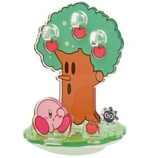 Kirby and Gordo Whispy Woods Moving Acrylic Diorama Stand