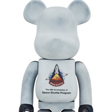 BE@RBRICK Space Shuttle 1000%