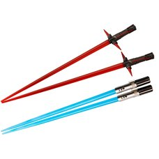 Star Wars Lightsaber Chopsticks: Kylo Ren & Rey Battle Set