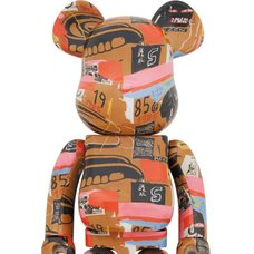 BE@RBRICK Andy Warhol x Jean-Michel Basquiat Vol. 2 1000%