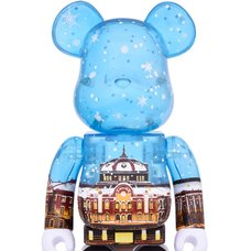 BE@RBRICK Tokyo Station 400% Snow Ver.