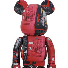 BE@RBRICK Andy Warhol × Jean-Michel Basquiat Vol. 1 1000%