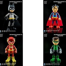 Mini Hybrid Metal Figuration: Justice League Series 0.5 Box