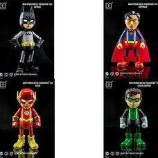 Mini Hybrid Metal Figuration: Justice League Series 0.5 Box