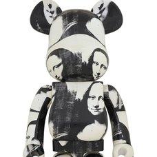 BE@RBRICK Andy Warhol Double Mona Lisa 1000%