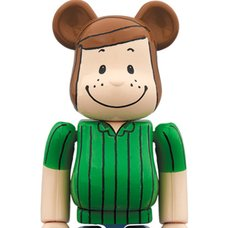 BE@RBRICK Peanuts Peppermint Patty 100%