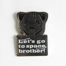 Space Brothers Exhibit Pins