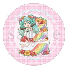 Hatsune Miku Birthday 2018 Pin Badge