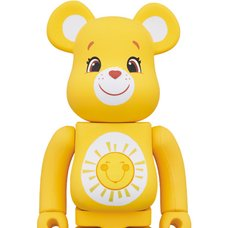 BE@RBRICK Care Bears Funshine Bear 400%