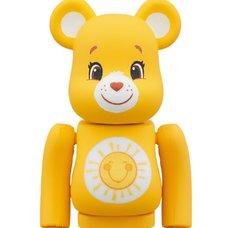 BE@RBRICK Care Bears Funshine Bear 100%
