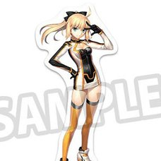 TYPE-MOON Racing Fate 15th Anniversary Edition Altria Pendragon (Suit Ver.) Acrylic Stand