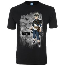 Black Clover Asta Stimulated Process Men's T-Shirt