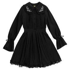 LISTEN FLAVOR Moonlight Frilly Dress