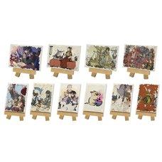 Monster Hunter Rise Mini Canvas Board Collection Box Set
