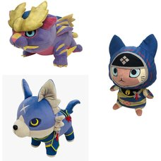 Monster Hunter Rise Plush Collection