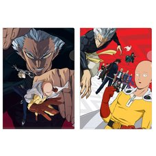 One-Punch Man Clear File Set