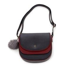 RADIO EVA DUO 011 Rei Ayanami Shoulder Bag w/ Fur Charm