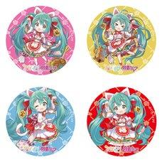 Hatsune Miku x Maneki Neko Collaboration Maneki Miku Trading Pin Badge
