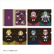 Hatsune Miku Halloween mago Ver. Clear File Set
