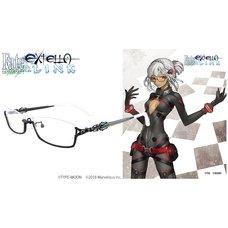 Fate/Extella Link Altera Model Collaboration Glasses (Clear Lenses)