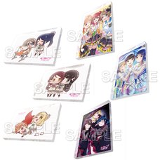 Love Live! Sunshine!! Aqours Acrylic Magnet Collection