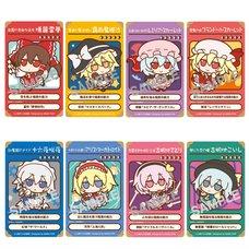 Touhou Project Fumo Fumo Card Stickers