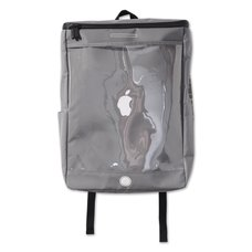 "PDS ""Aitsu""pple Gray Square Backpack"