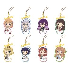 Is the Order a Rabbit?? DeRumus Summer Ver. Rubber Strap Collection Box Set