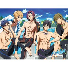 Free! After Swimming Wall Scroll