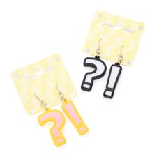 Popuphilia! ?! Pierced Earrings