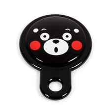 Kumamon Glass Face Hand Mirror