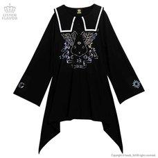 LISTEN FLAVOR Grimoire Bat Sailor Dress