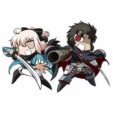 Fate/Grand Order GUDAGUDA Shinsengumi Acrylic Keychain Set